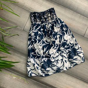 Abercrombie and Fitch cotton elastic waist skirt